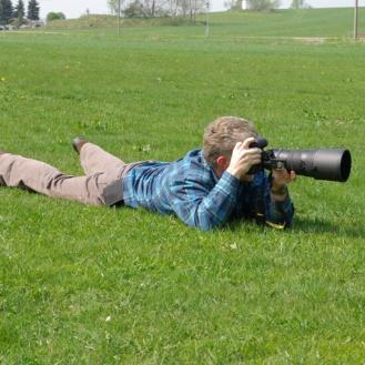 Der Fotograf im Einsatz